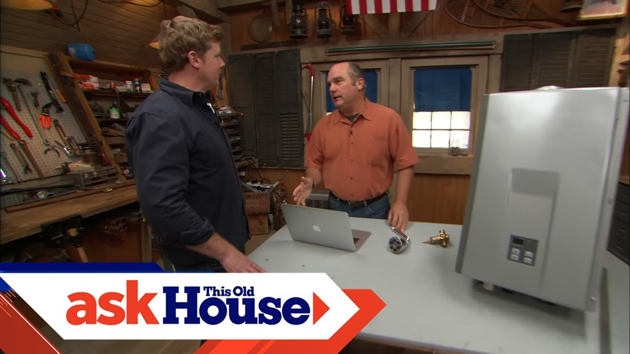 How to Adjust Water Heater Temperature | Ask This Old House