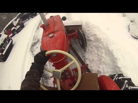 Allis Chalmers D12 Snow Plow