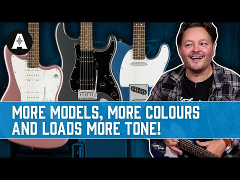 Squier's Best-Selling Affinity Series Just Got a Whole Lot Better!