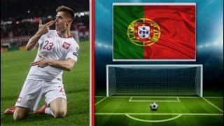 Krzysztof Piątek Gol 1-0 Polska v Portugalia 2-3 11.10.2018
