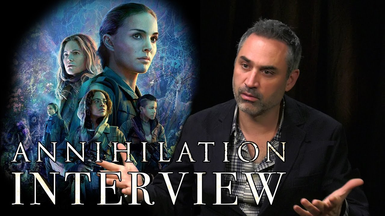 Annihilation Alex Garland Interview