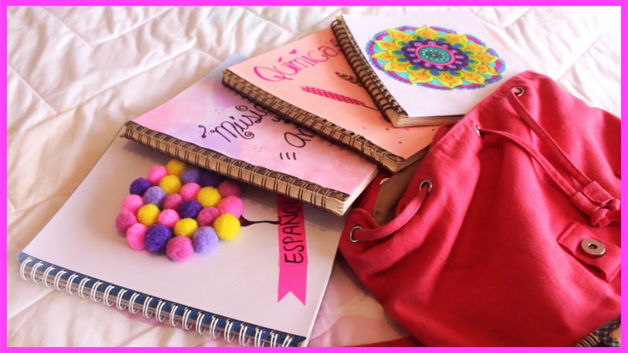 Ideas para decorar tus libretas o cuadernos diy regres doovi - Ideas para decorar vestibulos ...