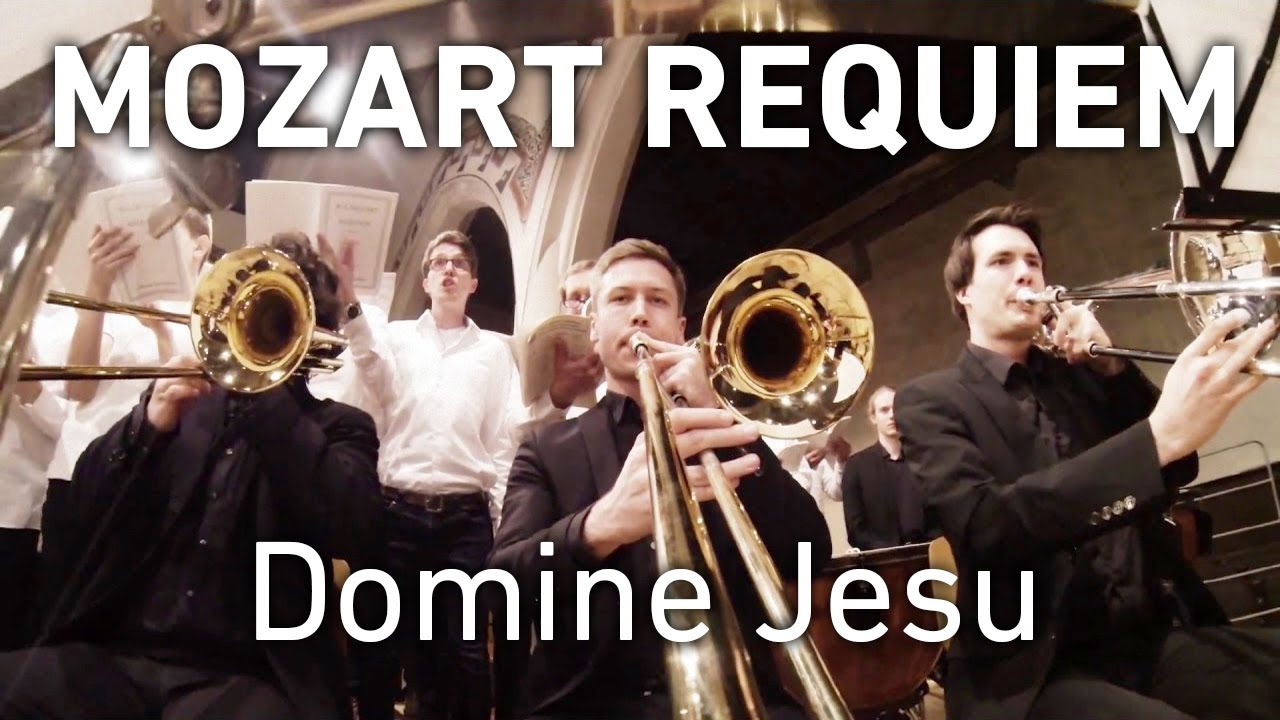 GoPro on Trombone: Domine Jesu - Mozart Requiem - YouTube