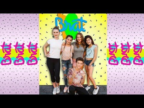 BEHIND THE SCENES AT BRAT'S CHICKEN GIRLS! ANNIE LEBLANC, HAYDEN SUMMERALL AND BROOKE BUTLER