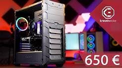 650 Euro Gaming PC 2019 - STARKE Leistung + viele Optionen und EFFIZIENT!