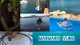 Tatil VLOG'u:Marmaris/Yat Turu/Tayland Dondurması/BAYILDIM