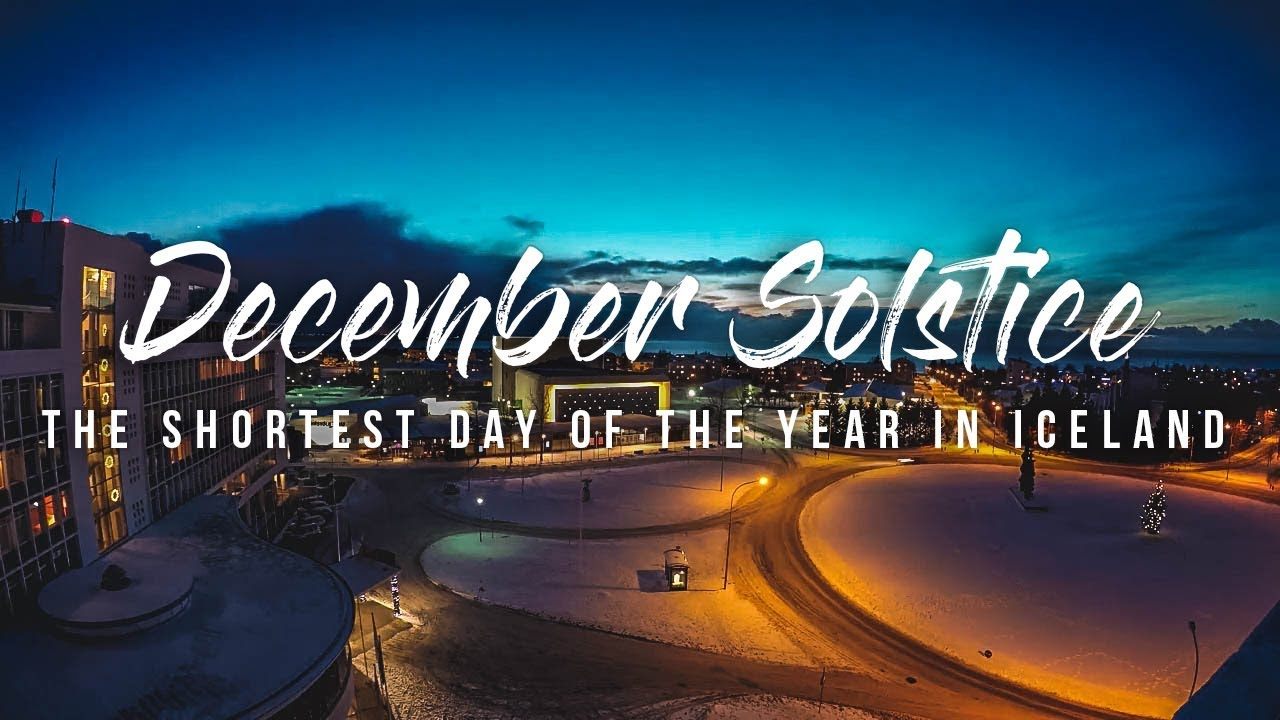 Shortest day of the year 2016