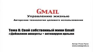 Gmail другими глазами. Тема 8.5 - Учимся писать письма  из мини Gmail