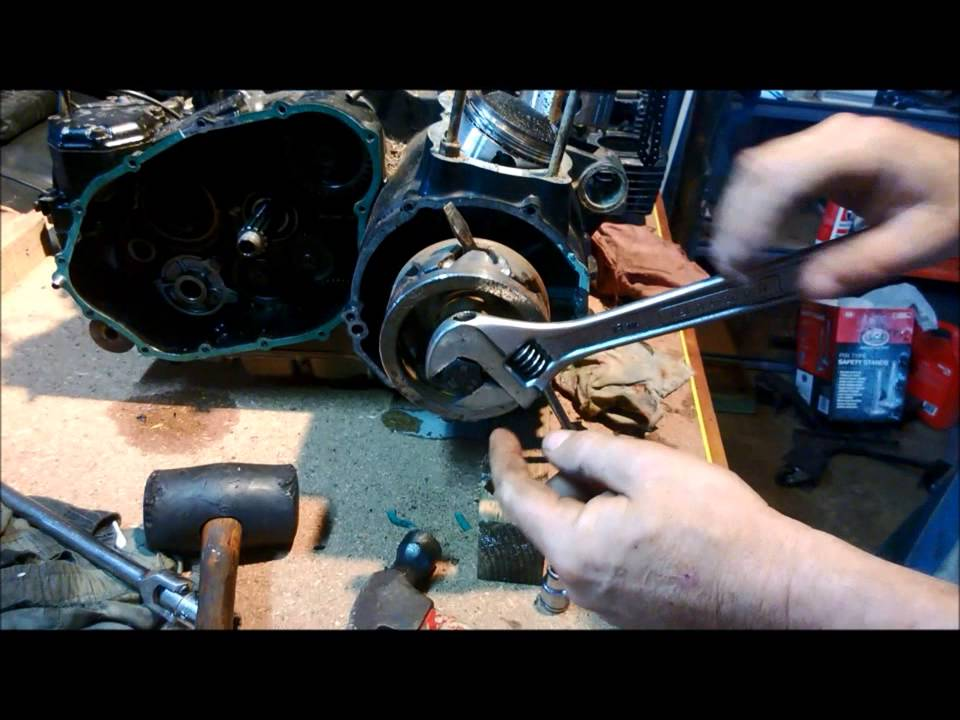 110cc Pit Bike Wiring Diagram Easy Stator Rotor Removal Youtube