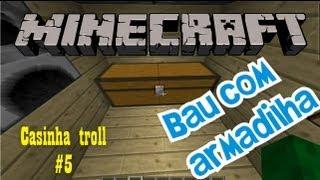 Trap do Baú com Armadilha - MINECRAFT (TODAS VERSÕES)