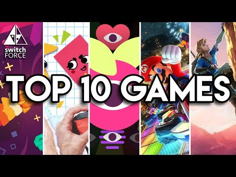 Top 10 BEST Switch Games So Far