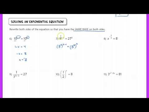 5.1 Exponential Functions