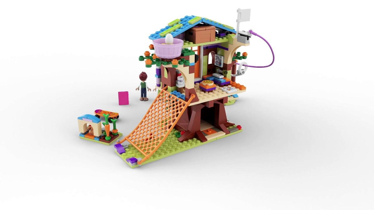 Lego Friends Mias Tree House 41335 Youtube