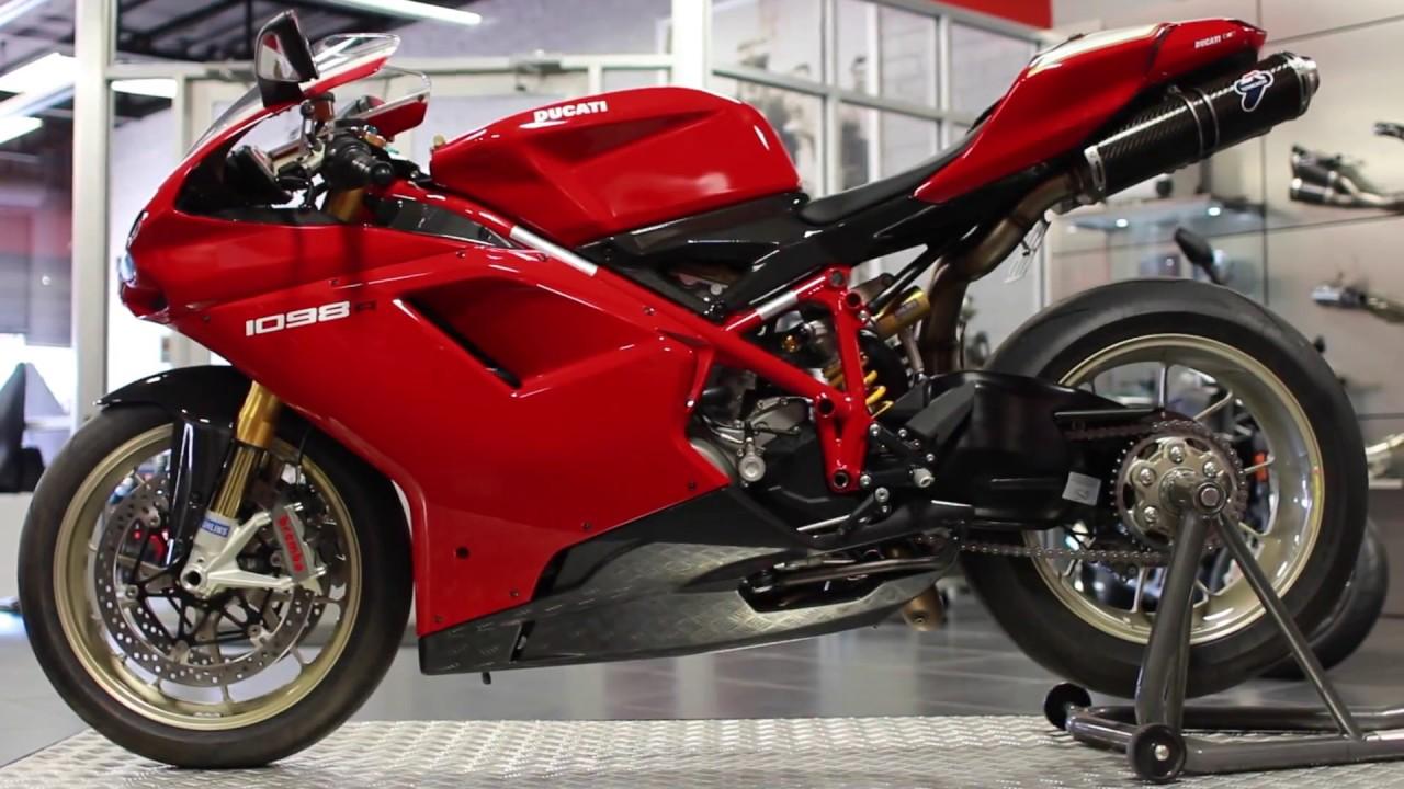 2008 Ducati 1098R - YouTube