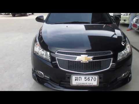 รถเก๋งมือสอง รถราคาถูก Chevrolet (เชฟโรเล็ต ครูซ) Cruze LS สีดำ ปี 2013 เกียร์ออโต้#UC69