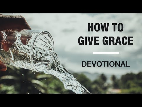 Be a Grace Giver - Devotional