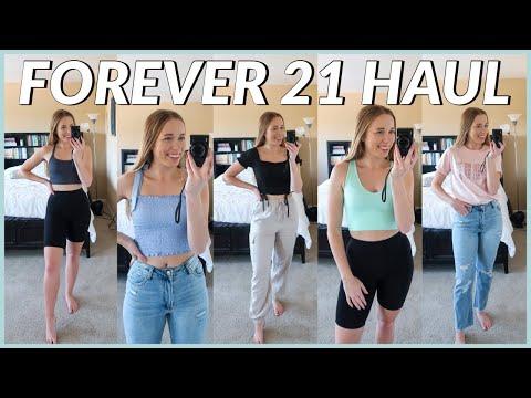 forever-21-haul-2020- -summer-clothing-try-on-haul