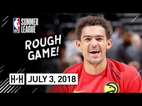 Trae Young Full Highlights vs Spurs (2018.07.03) Summer League - 12 Pts, All FG Included!