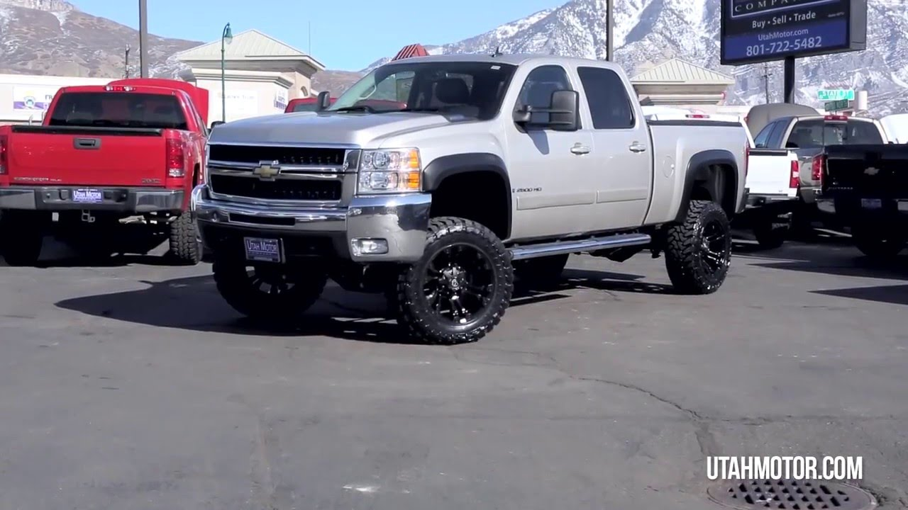 2008 chevrolet silverado 2500hd ltz lifted tires wheels. Black Bedroom Furniture Sets. Home Design Ideas