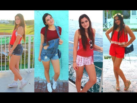 sc 1 st  YouTube & Fourth of July Outfit Ideas! - YouTube