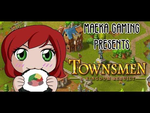 Townsmen - A Kingdom Rebuilt [PC] First Look  