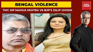 Time To Stop Badla Politics In West Bengal? TMC MP Mahua Moitra Vs BJP's Dilip Ghosh | News Today