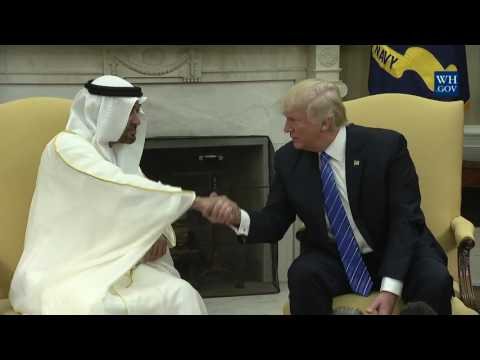 President Donald Trump Meets with Crown Prince Muhammad bin Zayed Al Nahyan