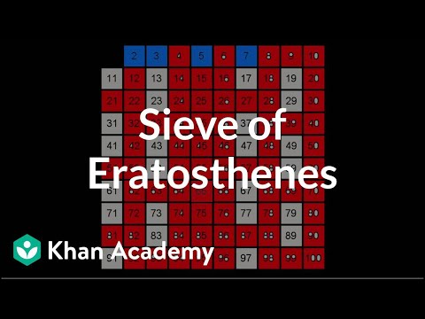 Sieve of Eratosthenes | Journey into cryptography | Computer Science | Khan Academy