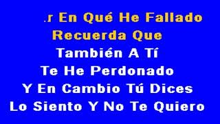 BANDA LA COSTENA - MI HISTORIA ENTRE TUS DEDOS (DJ BRAMBILA) KARAOKE