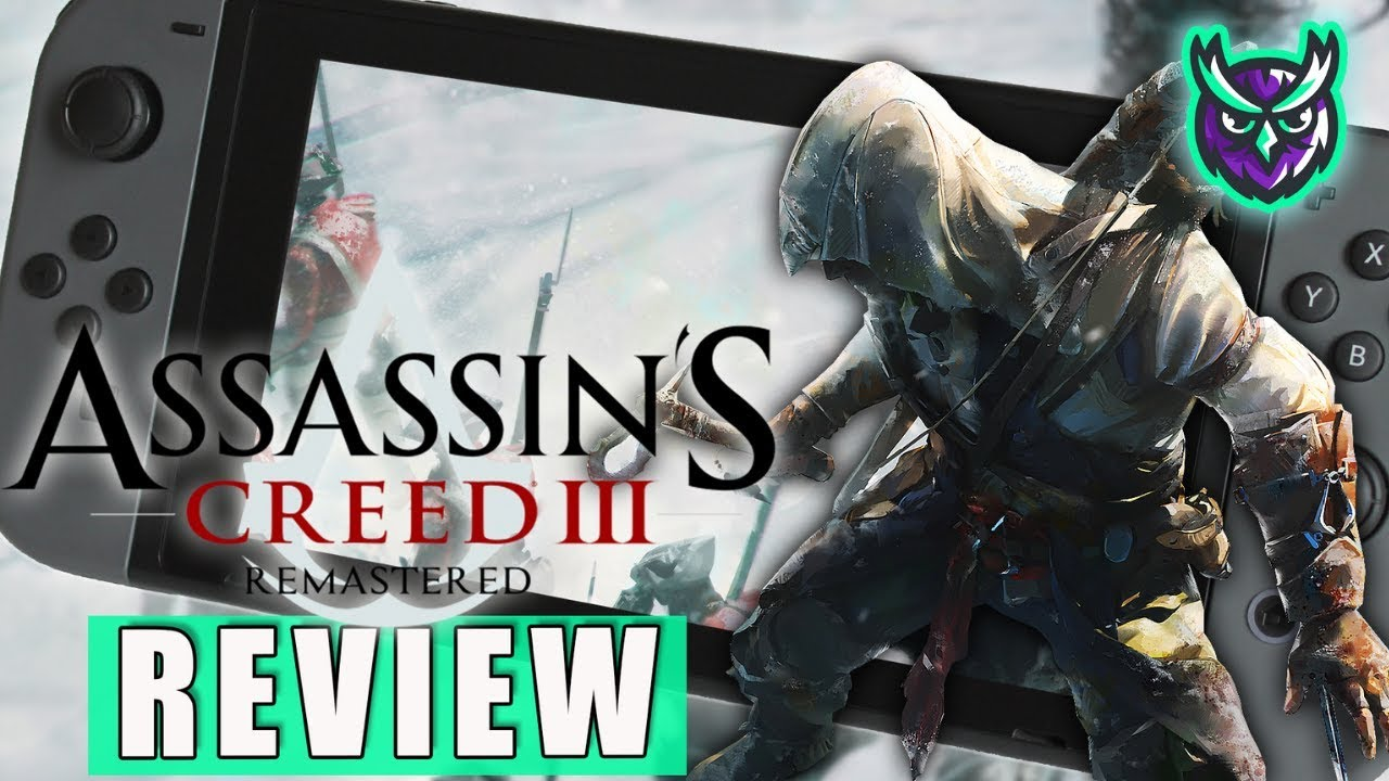 Assassin S Creed Iii Remastered Nintendo Switch Review Youtube