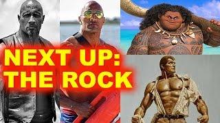 Dwayne Johnson Movies - Moana, Fast 8, Baywatch, Doc Savage, Jumanji