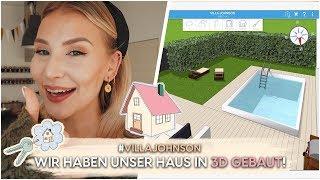 HAUS TOUR in 3D - So wird unser Haus aussehen! | AnaJohnson