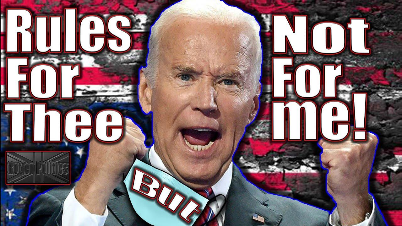 Biden DICTATES then BREAKS instantly 😷