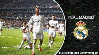 Real Madrid- Emocje Polskich Komentatorów  ᴴᴰ