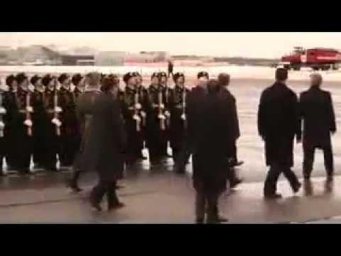 ALGERIE Abdelaziz Bouteflika en Russie (accompagnement par l'Armée Russe)