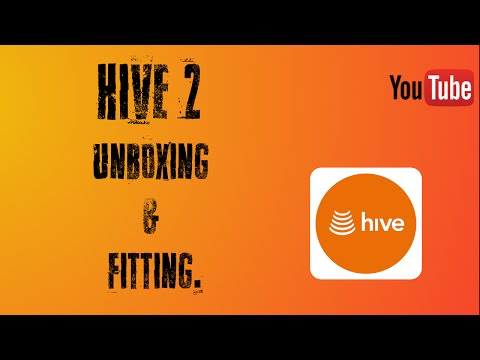 Hive 2 Unboxing & Fitting. Smart Home Series.