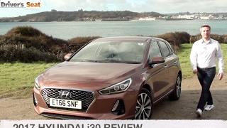 Hyundai i30 2017 Review Driver s Seat смотреть