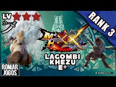 Rank 3: Lagombi e Khezu - Monster Hunter XX/Generations Ultimate 3DS thumbnail