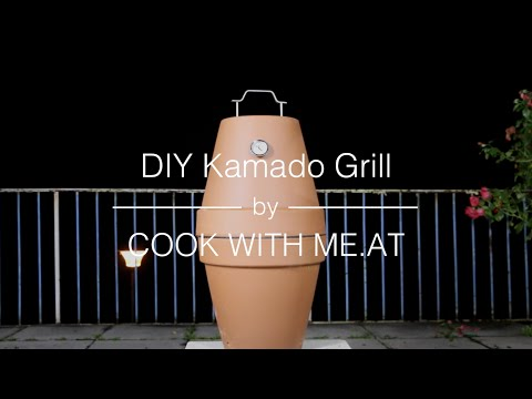 DIY Kamado Grill - Flowerpot Smoker Galileo - COOK WITH ME.AT