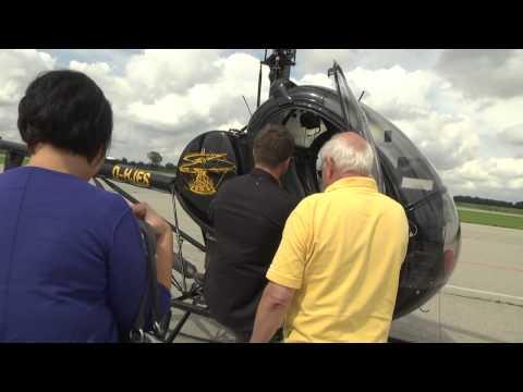 Meet&Greet: Hubschrauberflug mit Daniel Baier