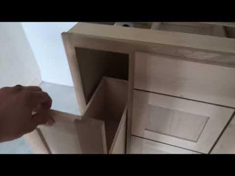 White Oak Custom Cabinets