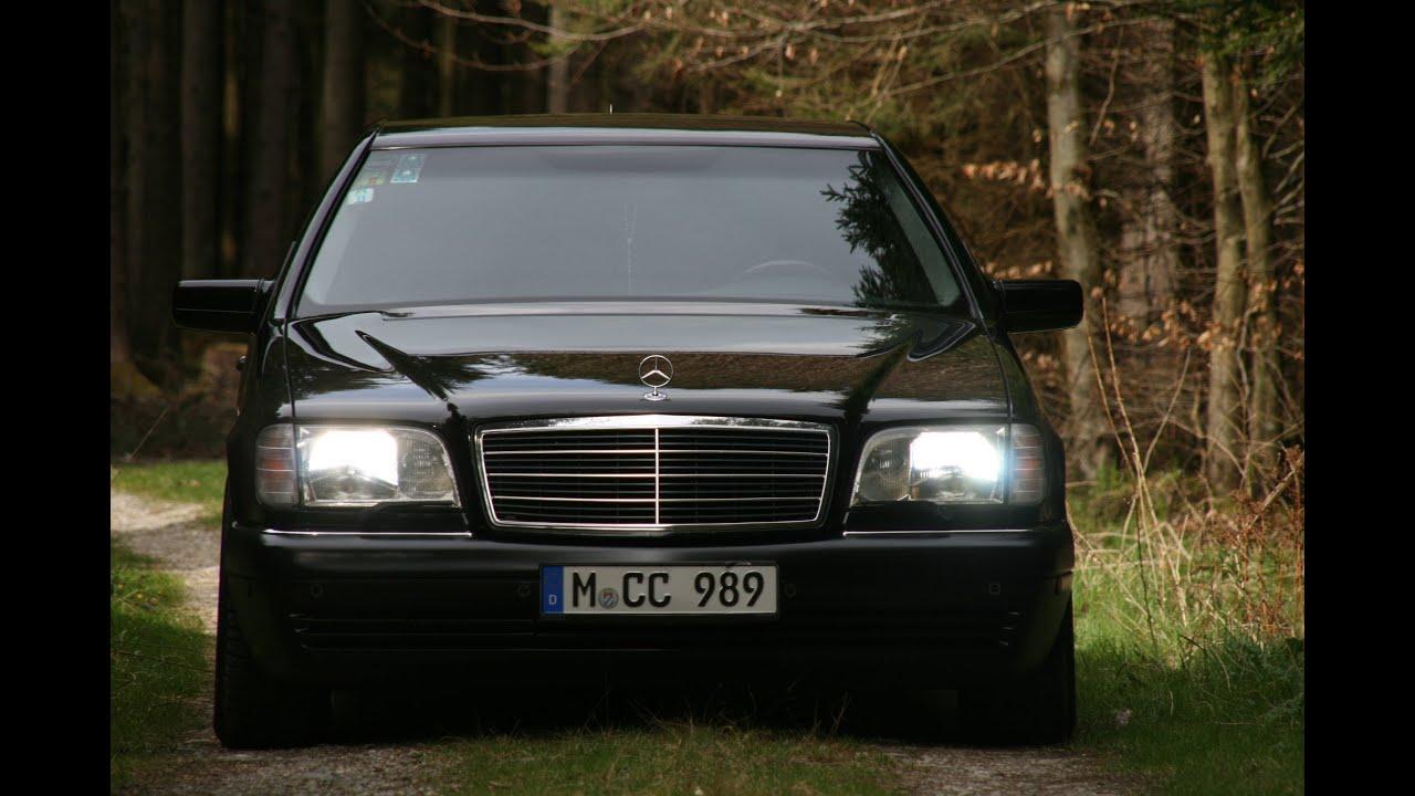 Car Fire Wallpaper Mercedes W140 Legend Youtube