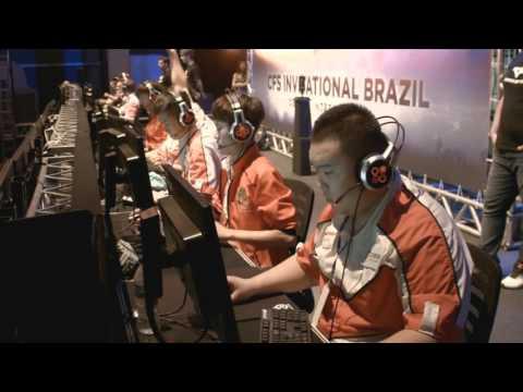 CF STARS BRAZIL - (USA) CARBON vs HG (CHINA) - Grande Final Prt 1