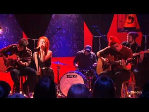 Paramore - Misery Business /MTV Unplugged - 720p