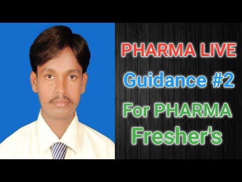 Pharma Live Guidance #2, For Pharma FRESHER'S || Pharma guide