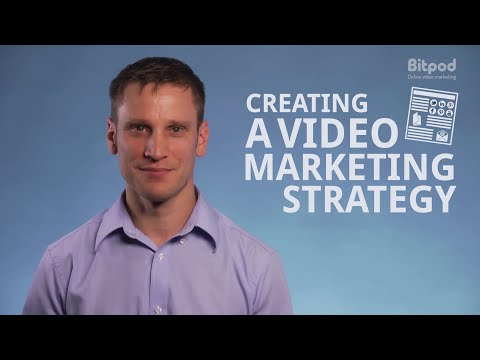 Creating a video marketing strategy - Video marketing for business #3