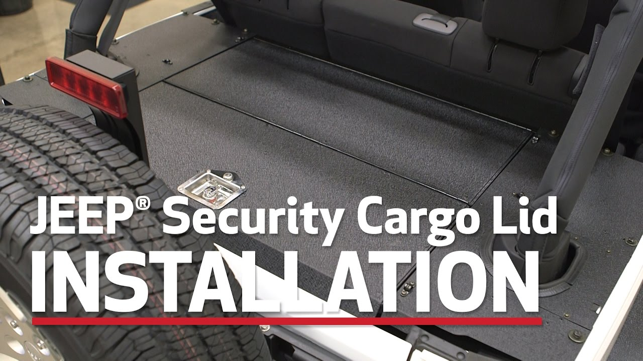 Aries Jeep Wrangler Unlimited Security Cargo Lid Install