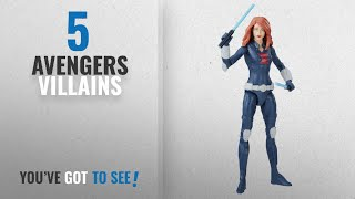 Top 10 Avengers Villains [2018]: Marvel Avengers Black Widow 6-in Basic Action Figure
