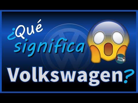 ¿Qué significa Volkswagen?