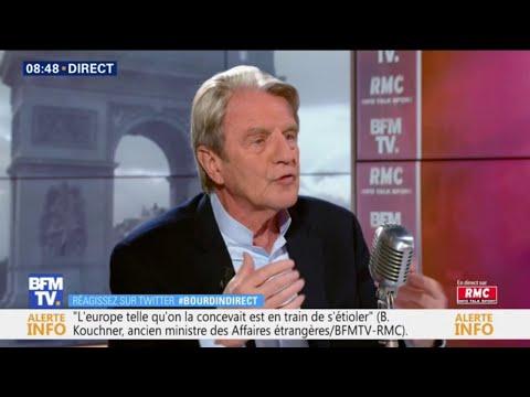 """Bernard Kouchner : """"La France doit être prudente et ne pas être arrogante"""""""